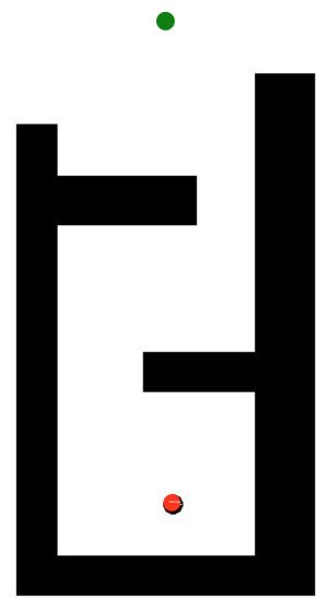 A Simple 2D Maze