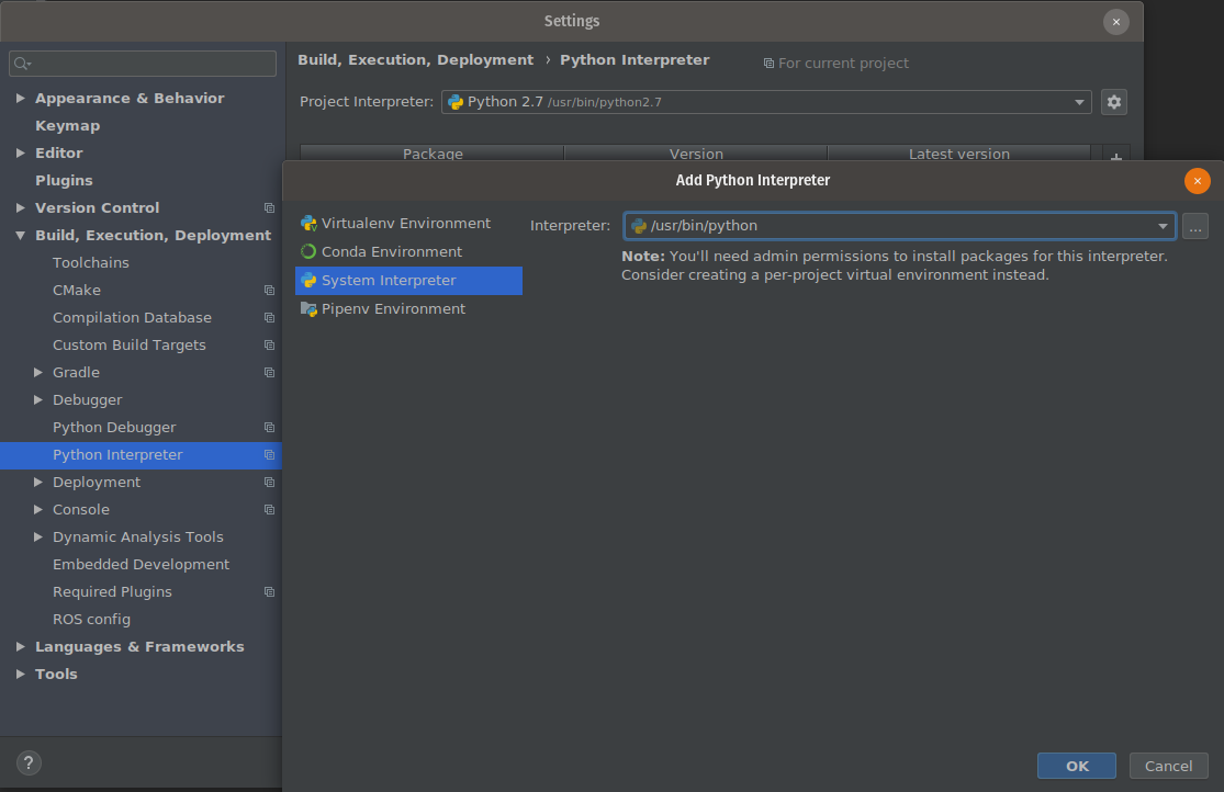 How to use PyCharm / Clion to debug on ROS
